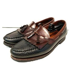 Allen Edmonds All-Leather Slip-On Tassel Loafers